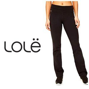 🇺🇸 LOLE Black Flare Leggings